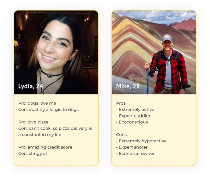 best bumble bios pros and cons