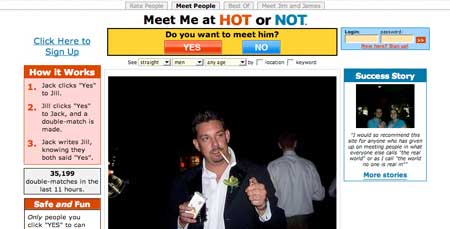 Dating sites like hotornot