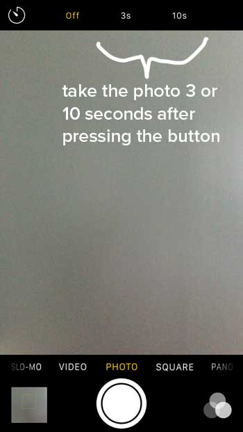 How to turn on your iPhone camera timer to 3 or 10 seconds