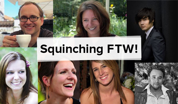 Squinching FTW!