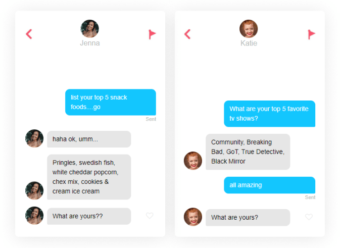 tinder icebreakers top five